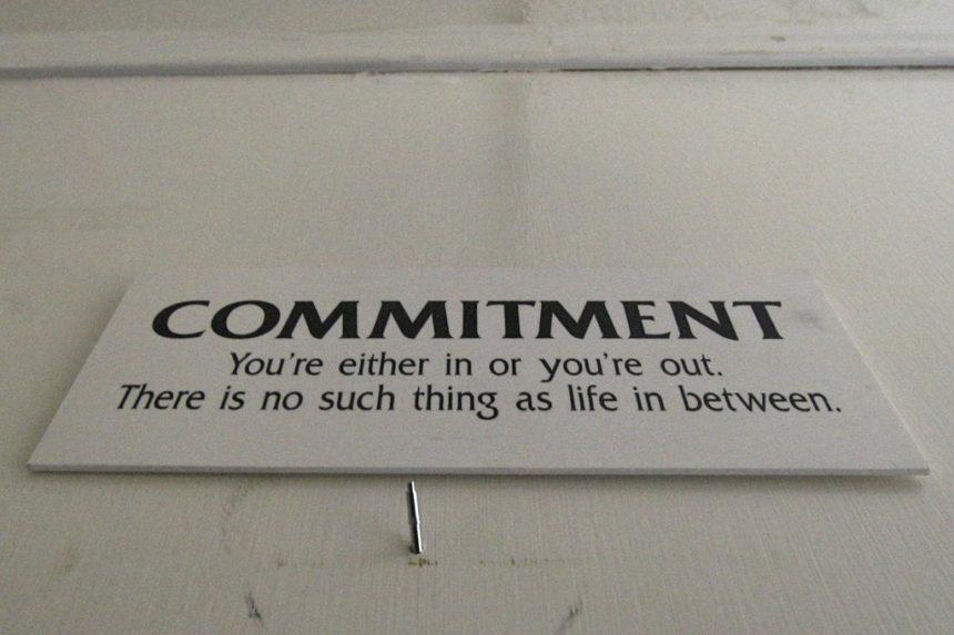 commitment, vow, promise, quotes