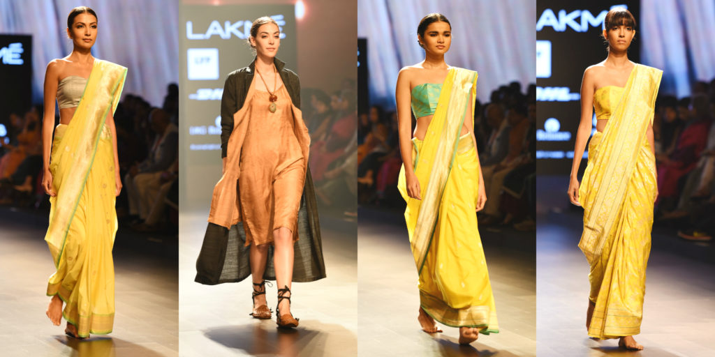 yellow, wind, elements of nature, yellow, lakme fashion week, fashion, designers, india, mumbai, models, photographers, best